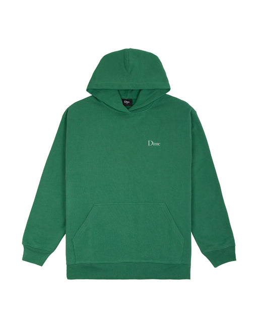 Dime Classic Small Logo Hoodie in Green