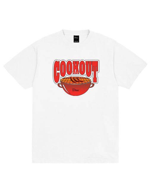 Dime Cookout Tee White