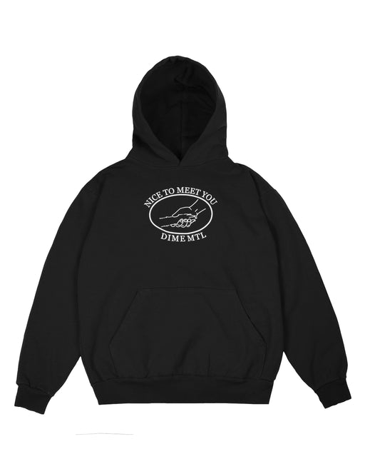 Dime Greetings Hoodie Black
