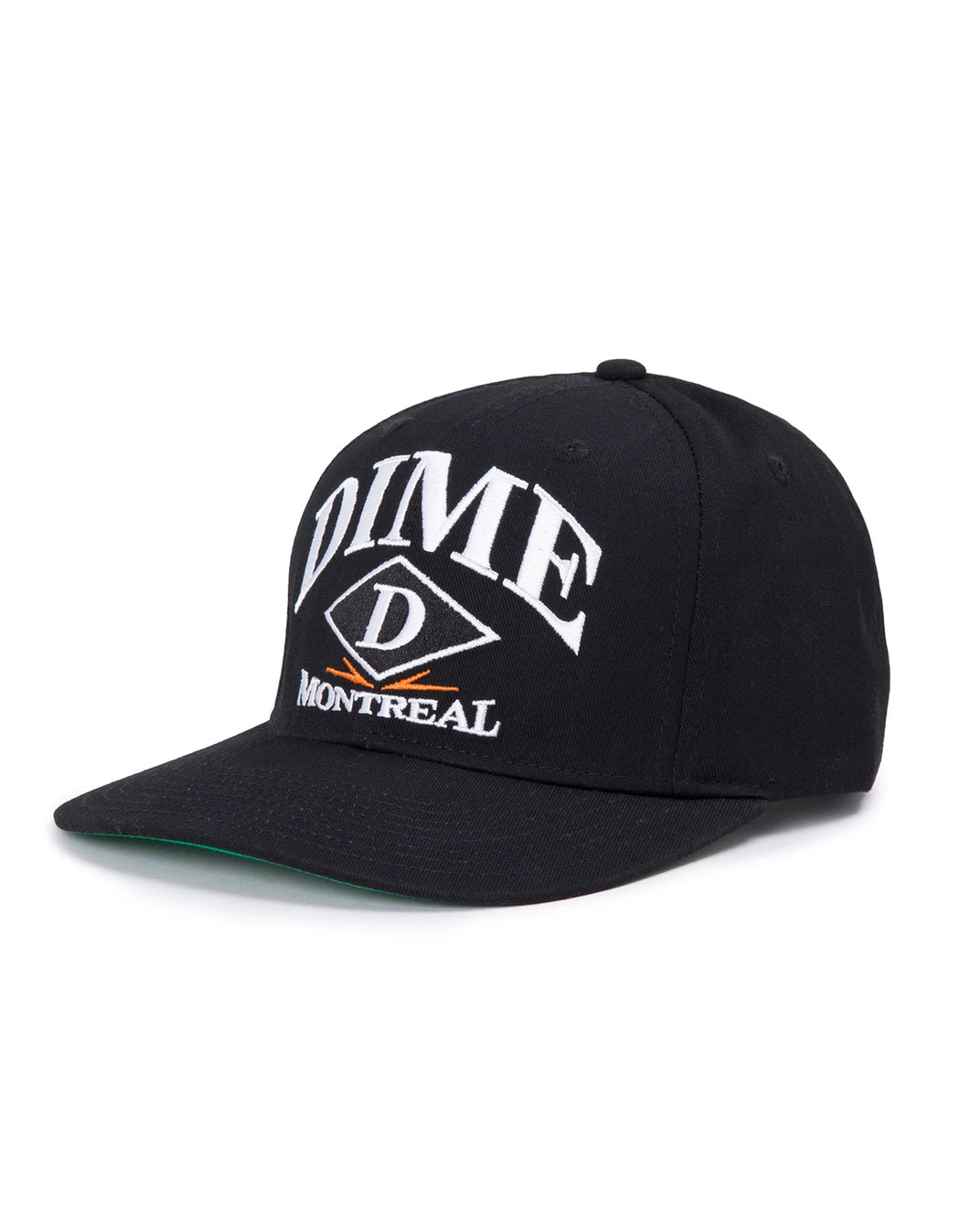 Dime Montreal Hat, Black