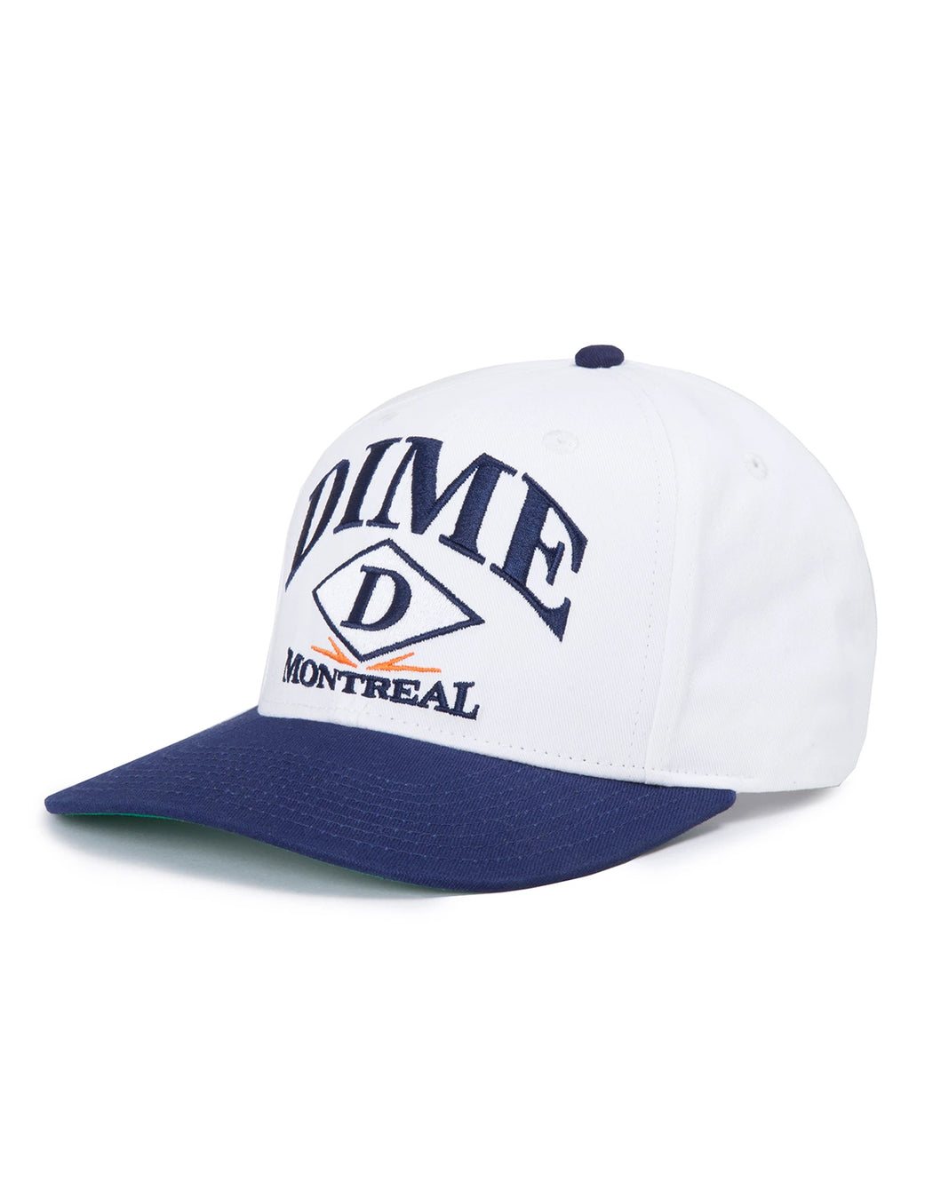 Dime Montreal Hat White Navy