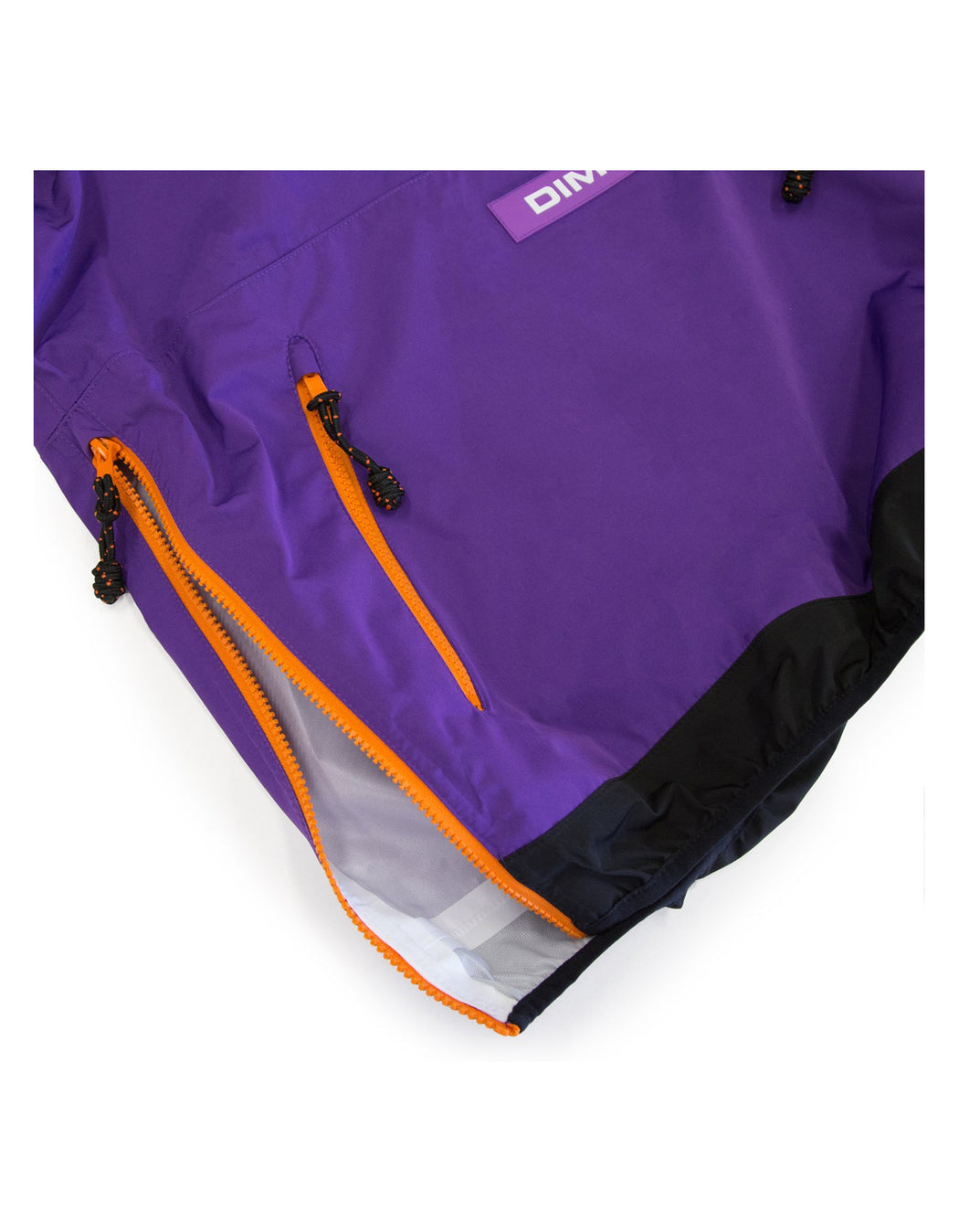 Dime Pullover Hooded Shell Purple