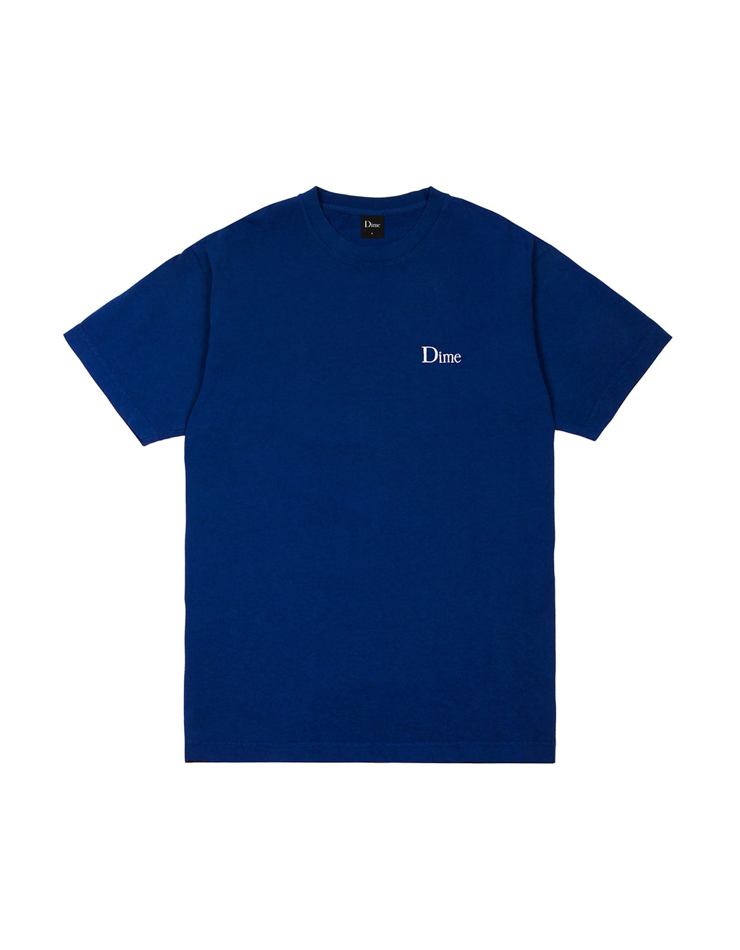Dime Classic Small Logo Tee in Navy