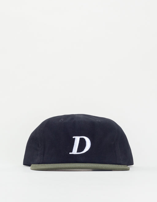 Dime Snapbnack Hat Black & Green
