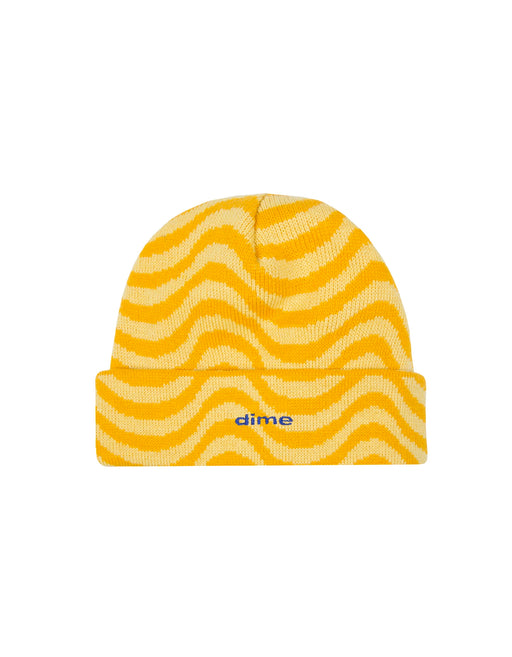 Dime Wave Beanie Yellow