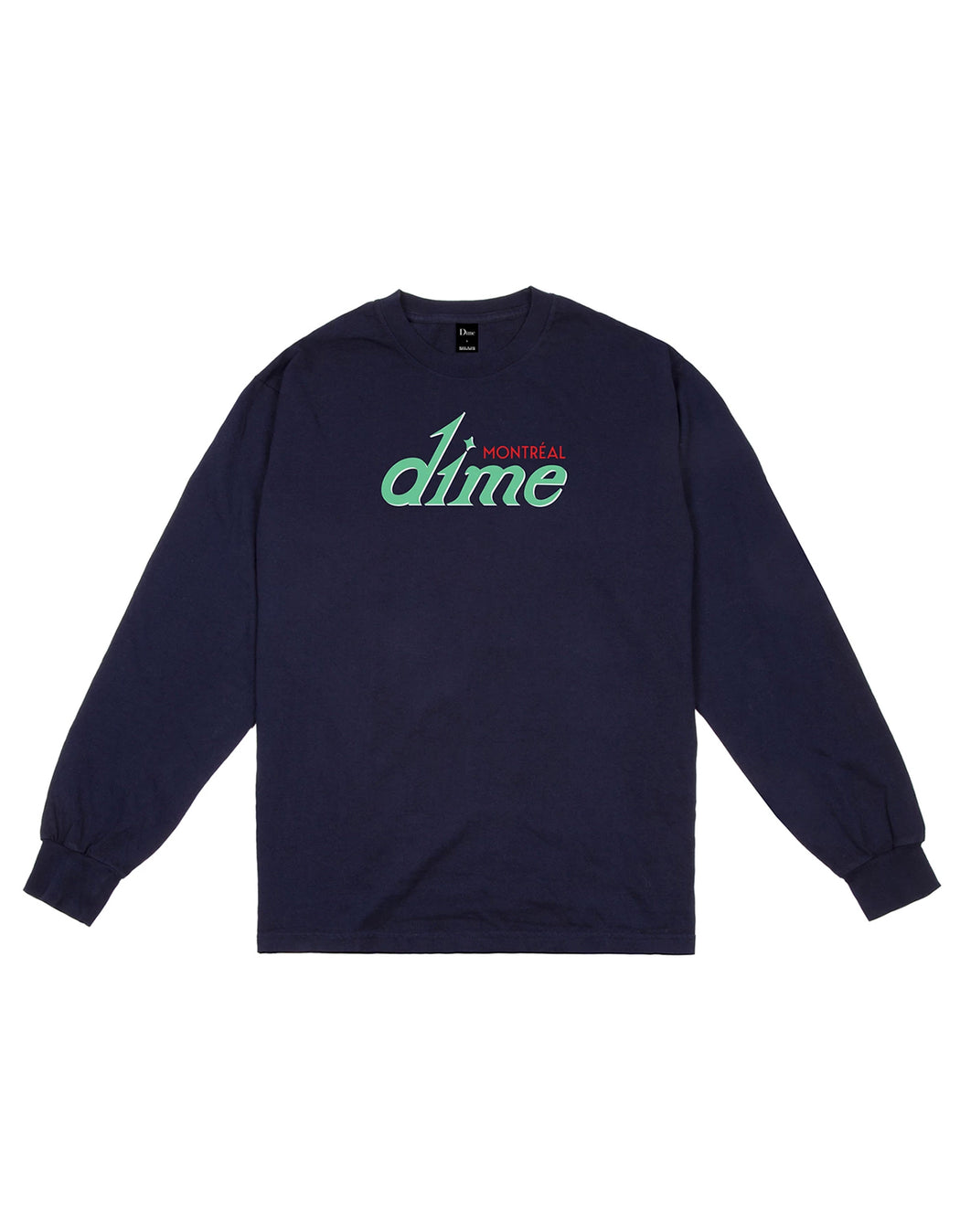Dime Hotel L/S Tee Navy