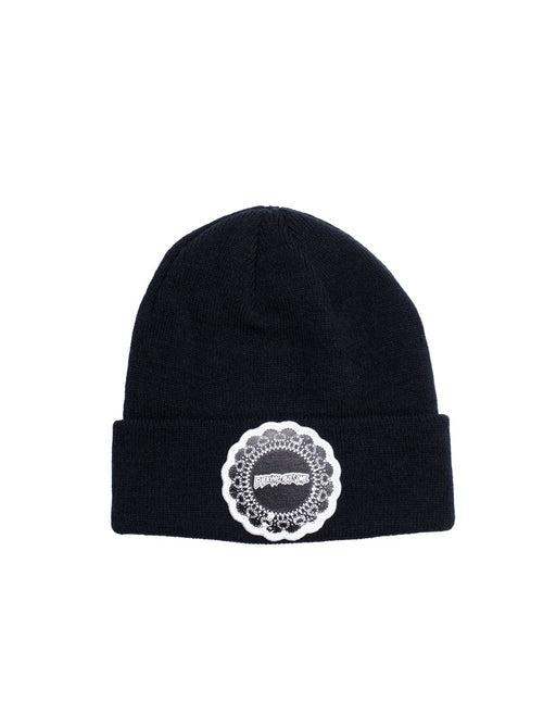 FA Doiley Beanie Black