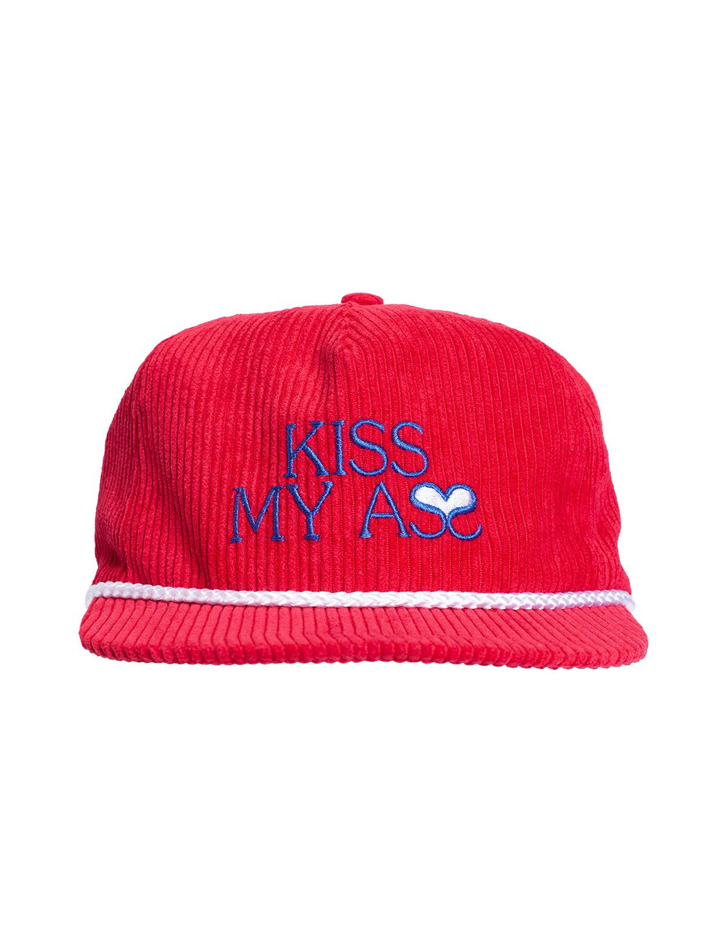 FA Kiss My Ass Hat Red
