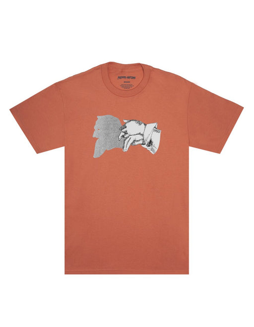FA Sage Shadow Tee Terracotta