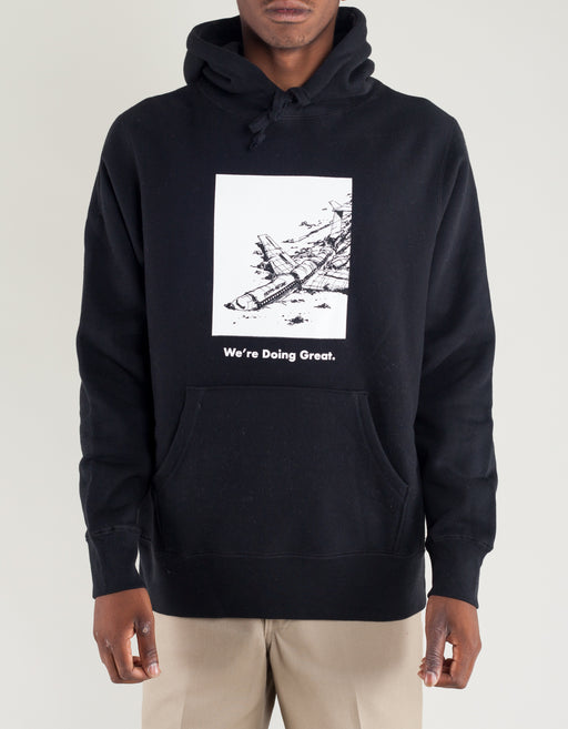 FA We Are Doing Great Hoodie Black