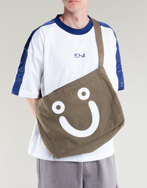 Polar Happy Sad Tote Bag Olive