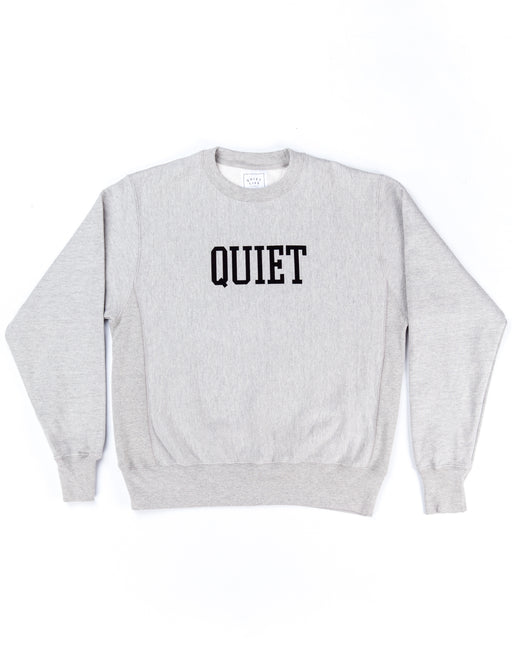 The Quiet Life Champion Crew Neck Heather Grey