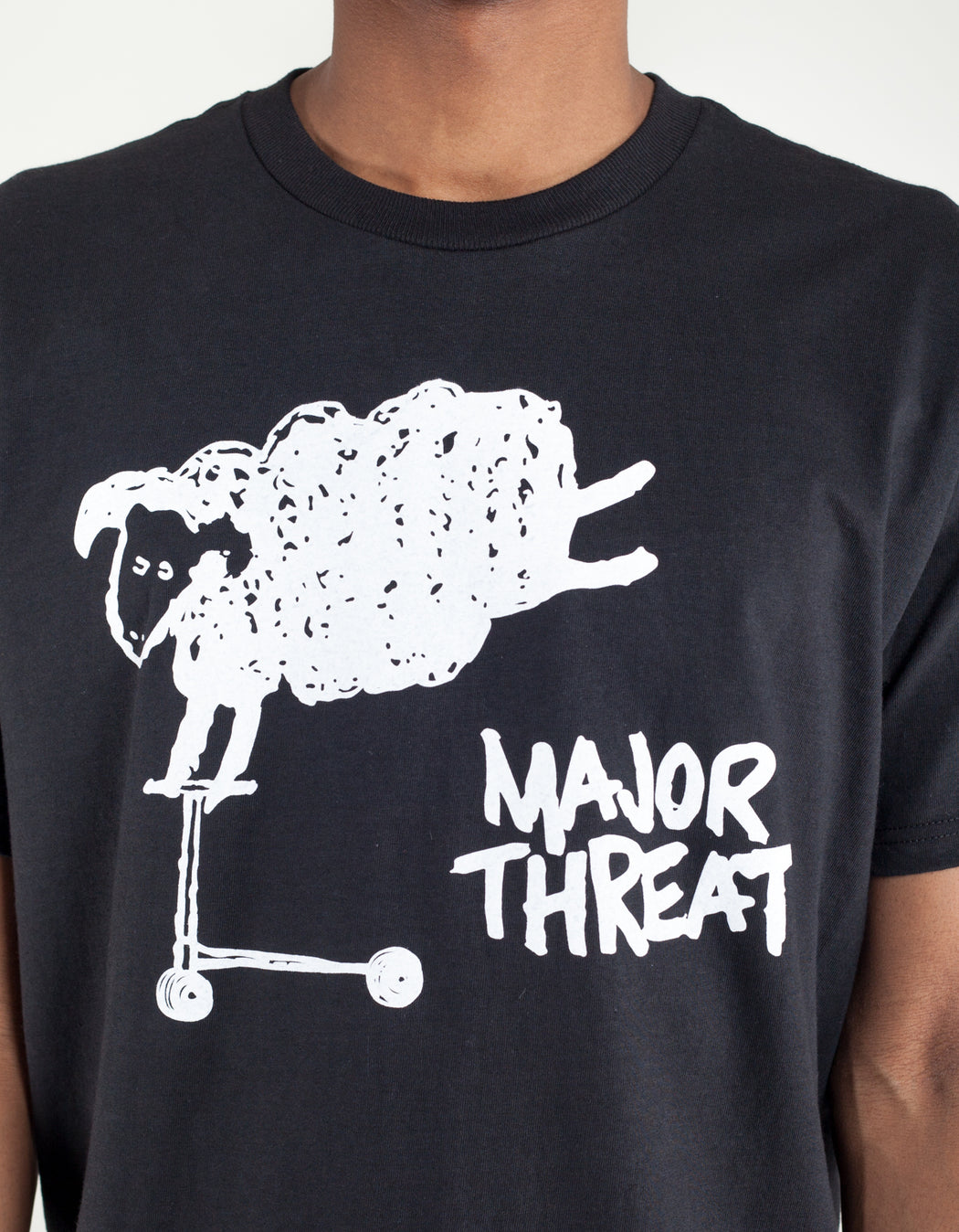 Goodnews Major Threat Tee Black