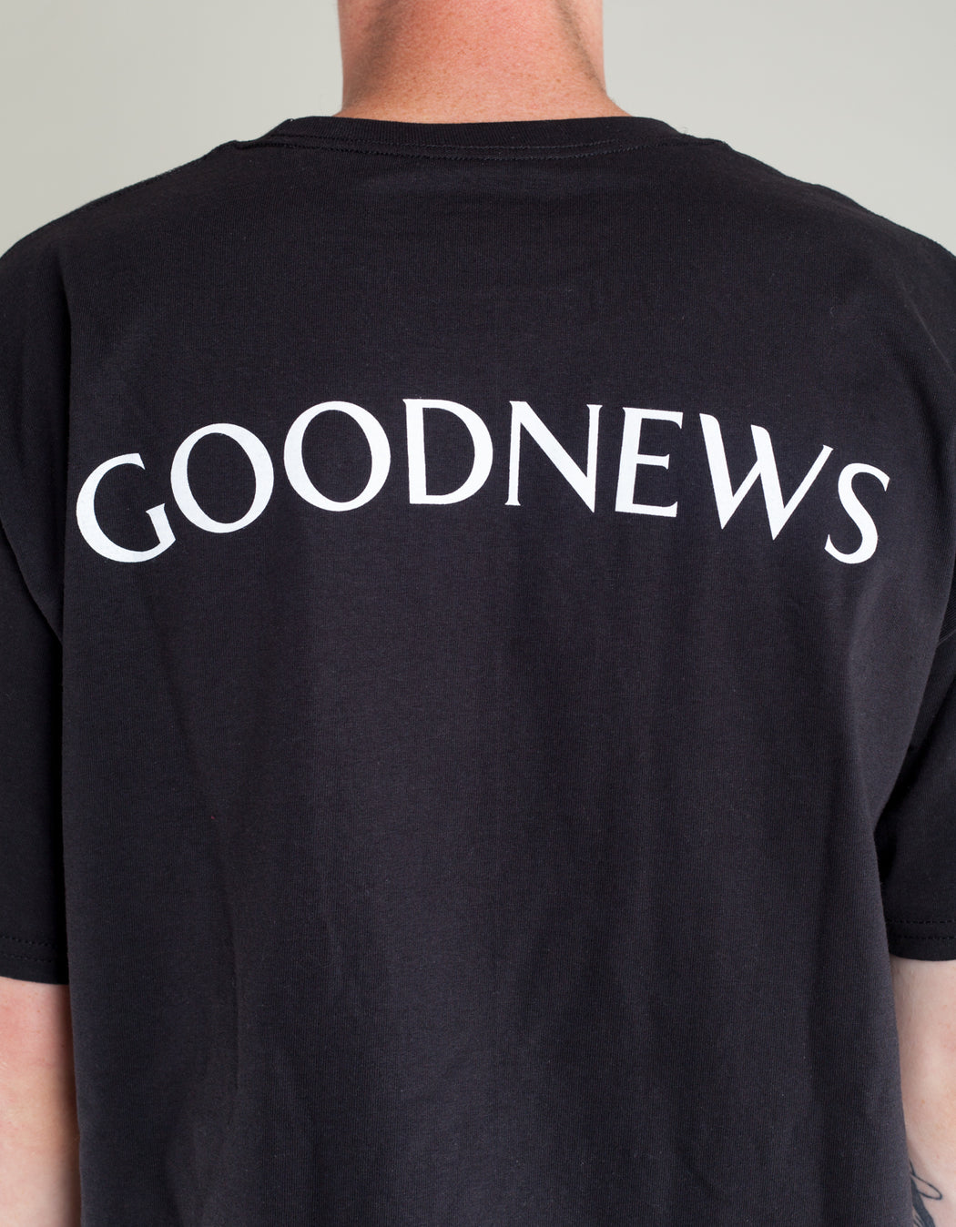 Goodnews Champion Team Tee Black