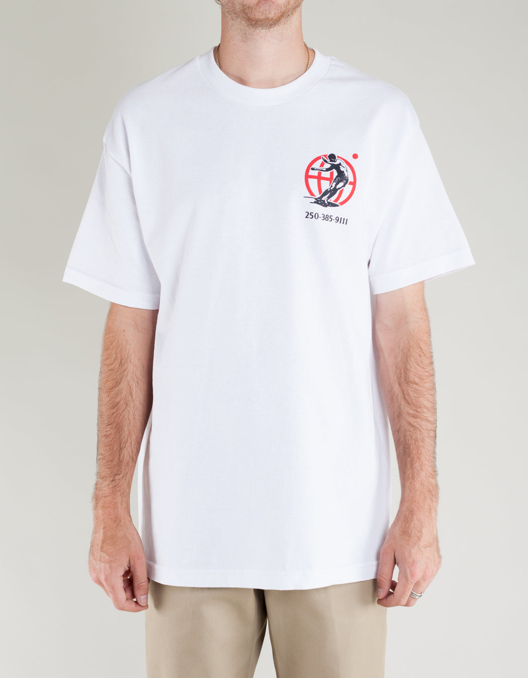 Goodnews Kanji Tee White