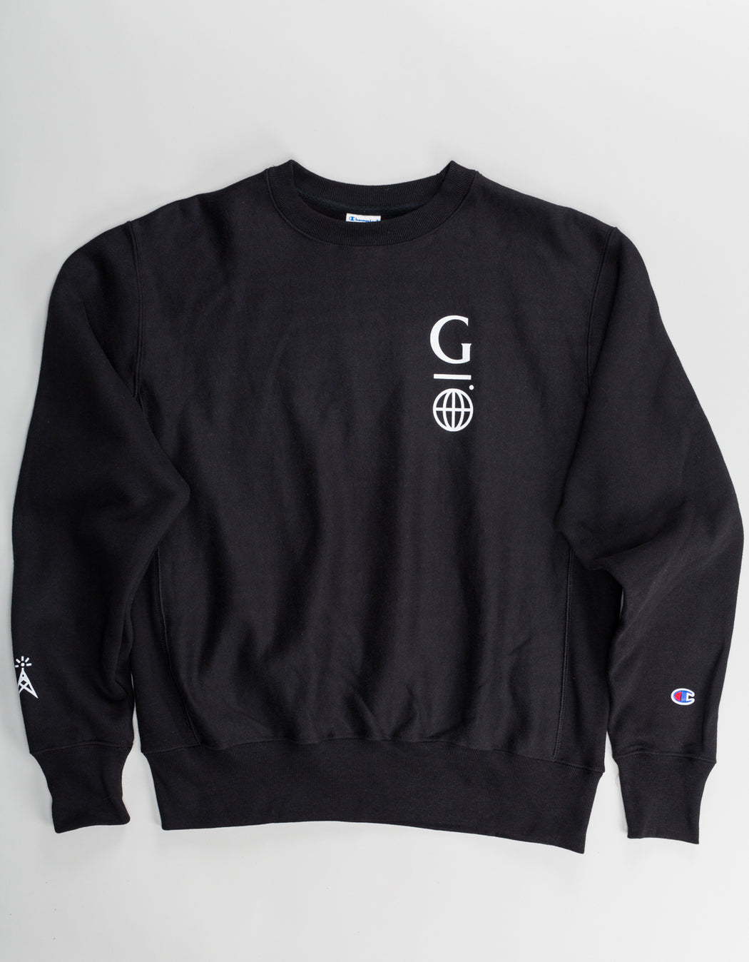 Goodnews Champion Crew Globe Logo Black