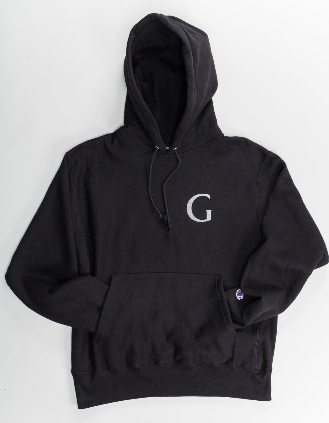 Goodnews Champion Globe Logo Hood 3M Print Black
