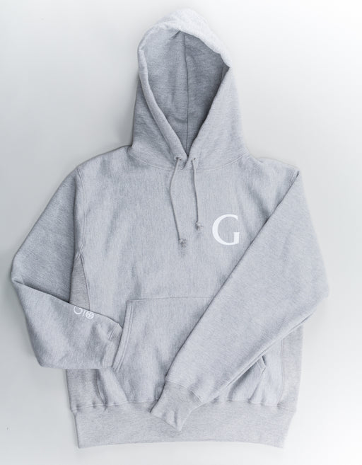 Goodnews Champion Globe Logo Hood Oxford Grey