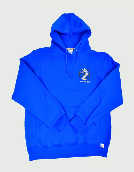 Goodnews Kanji Hoodie in Royal Blue