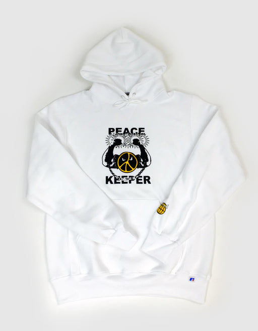 Goodnews Peace Keeper Hoodie in White
