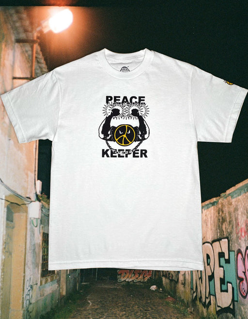 Goodnews Peace Keeper Tee, White