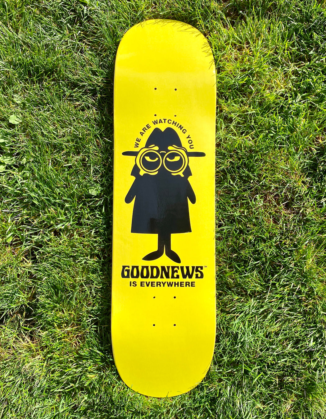 Goodnews X Rhek Deck, Yellow