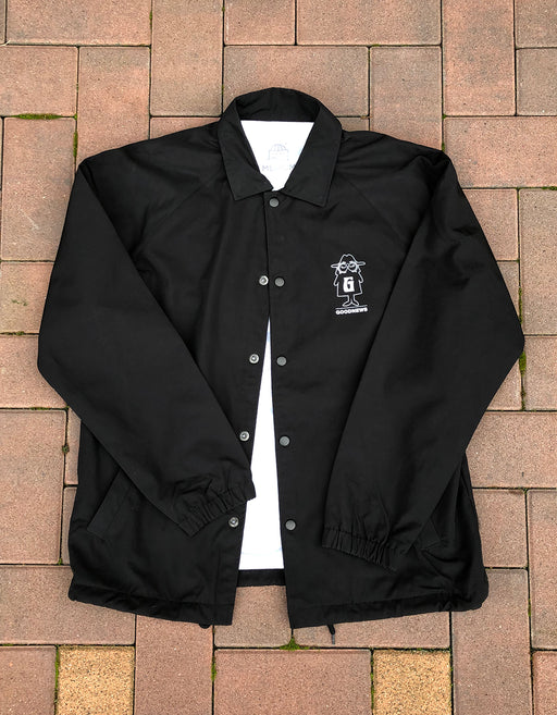 Goodnews X RHEK Coach Jacket Black