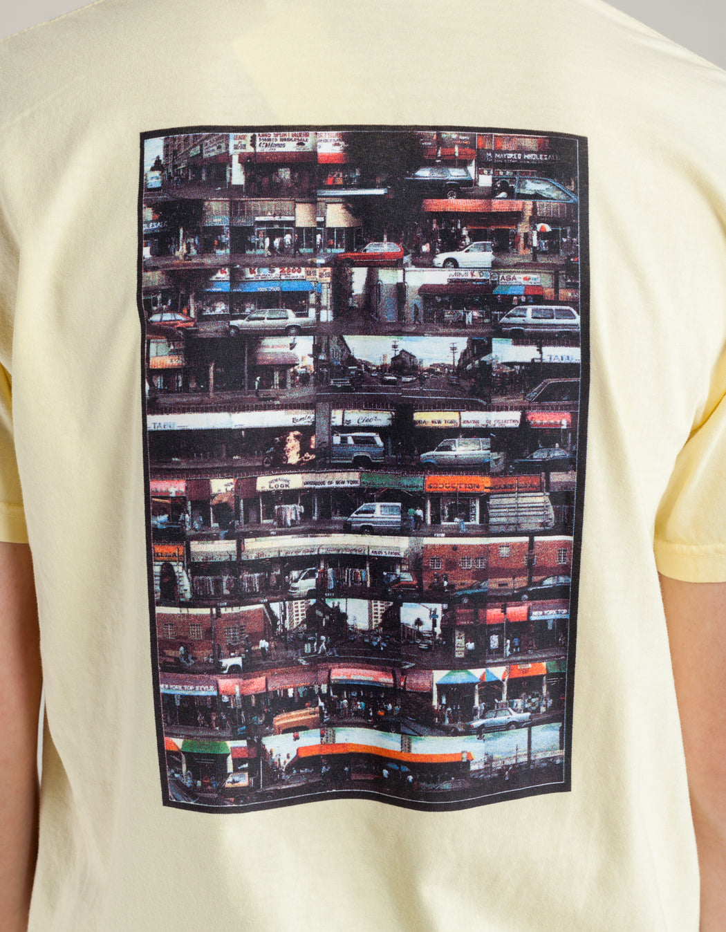 Hockey Dirty Boulevard Tee Bananna