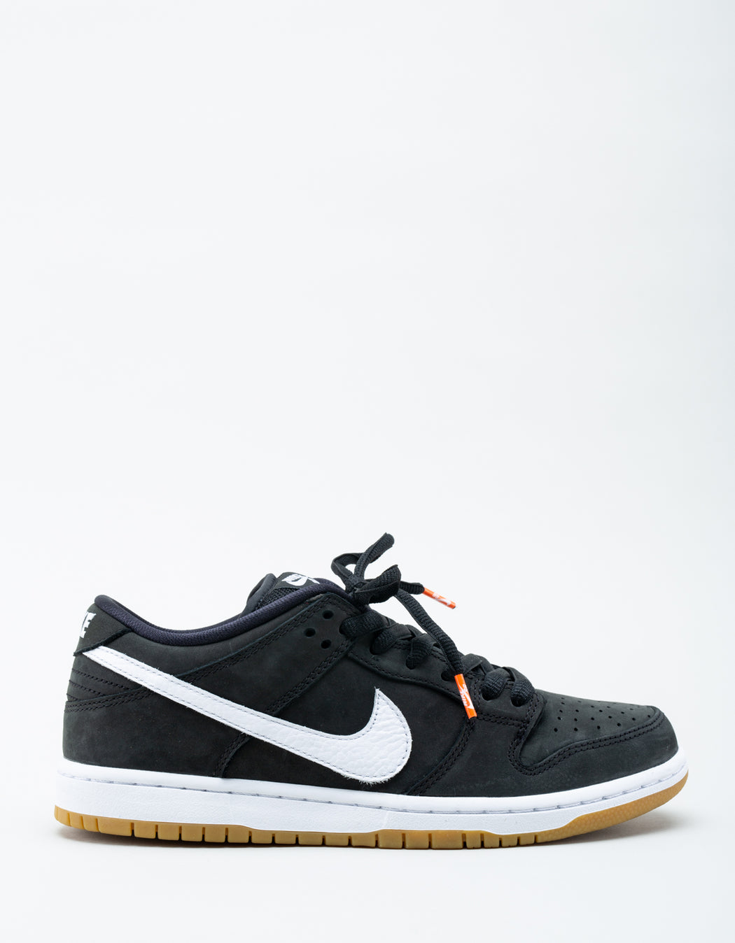 brand new e3ee2 6c6f3 Nike SB Orange Label Dunk Low Pro ISO Black ...