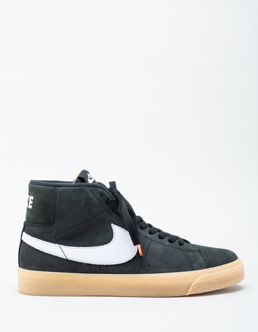 Nike SB Orange Label Zoom Blazer Mid IS Black Gum