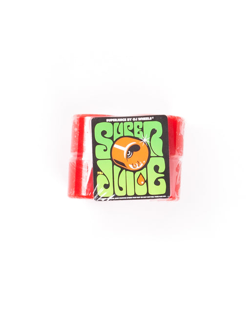 OJ's Wheels Super Juice 78A in Red Size 60mm