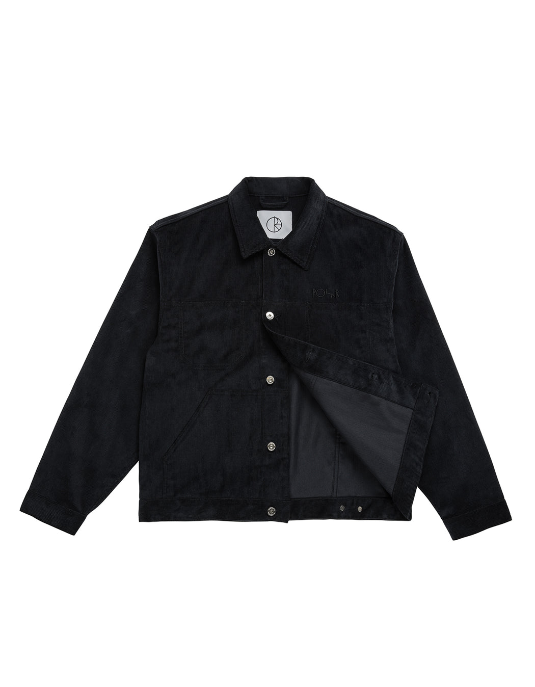 Polar Cord Jacket Black