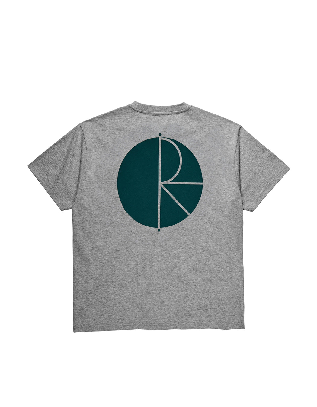 Polar Fill Logo Tee Heather Grey