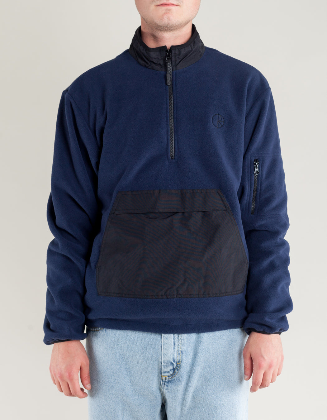 Polar Gonzalez Fleece Black Obsidian Blue