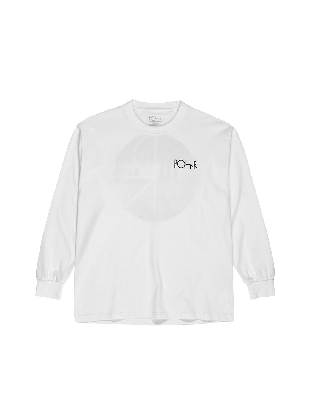Polar Happy Sad Fill Logo Tee White