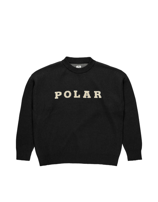 Polar Knit Sweater Black