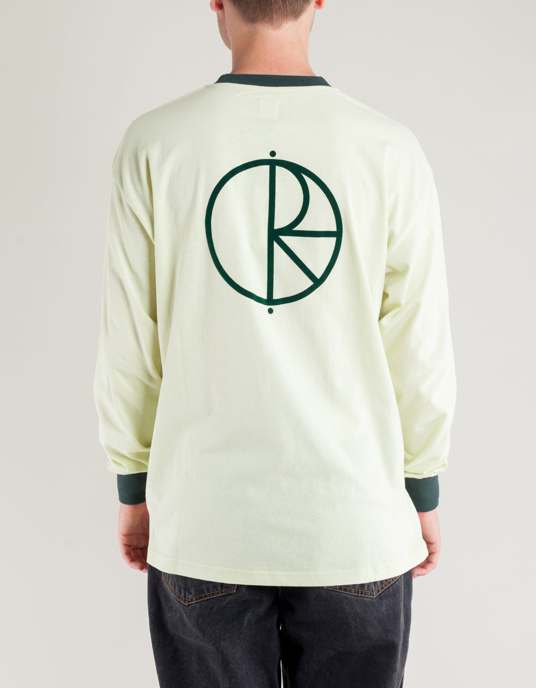 Polar Offside L/S Tee Foam Green