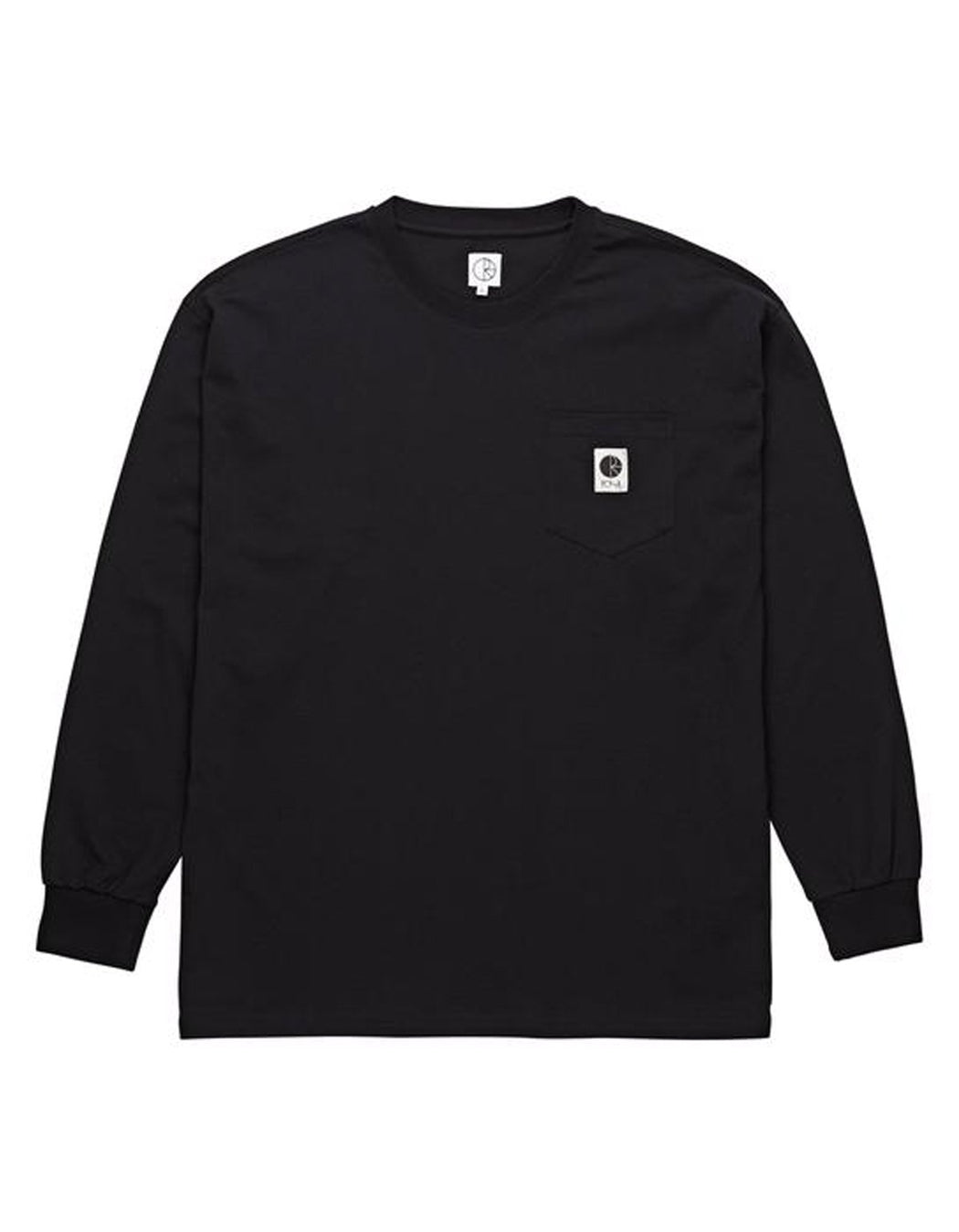 Polar Pocket L/S Tee Black