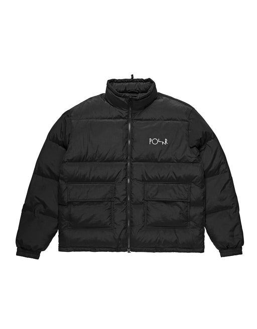 Polar Pocket Puffer Jacket Black