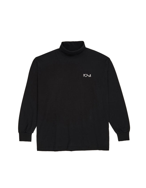 Polar Script L/S Turtleneck Tee Black