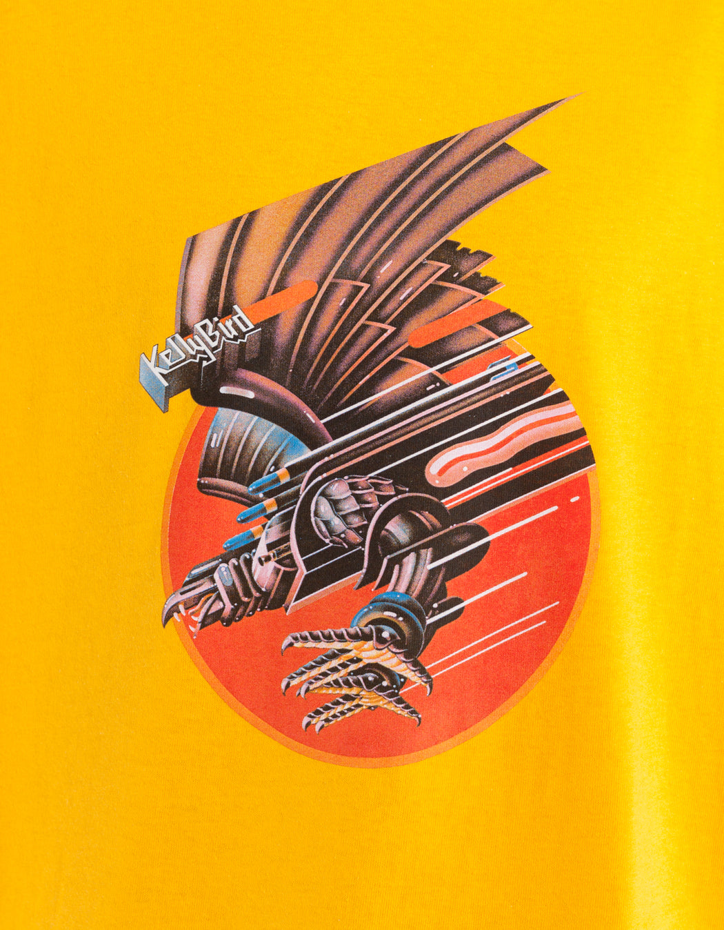 Real Bird Tee yellow