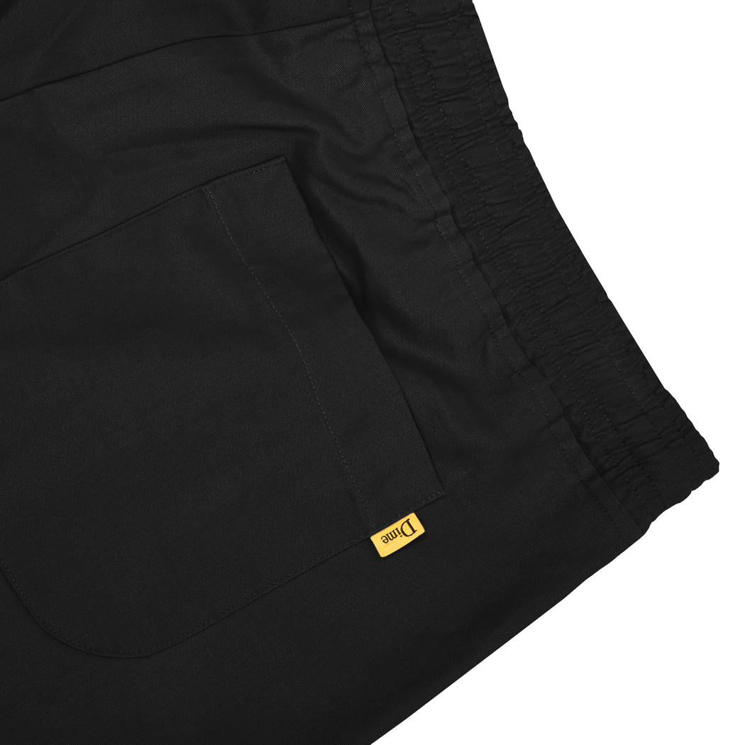 Dime Twill Pants in Black