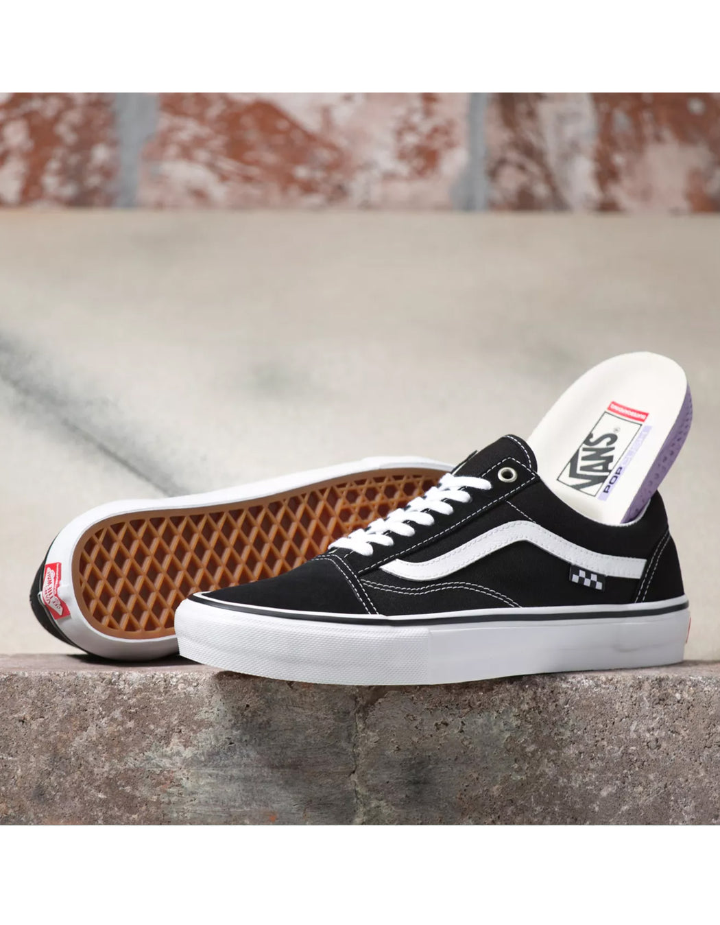 Vans Skate Old Skool in Black/White