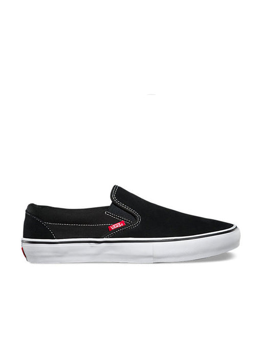 Vans Slip On Pro Black White
