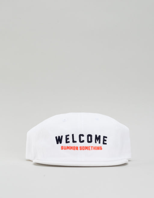 Welcome Academic Hat White