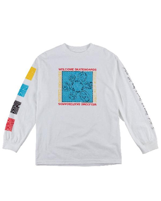 Welcome Seance L/S Tee White