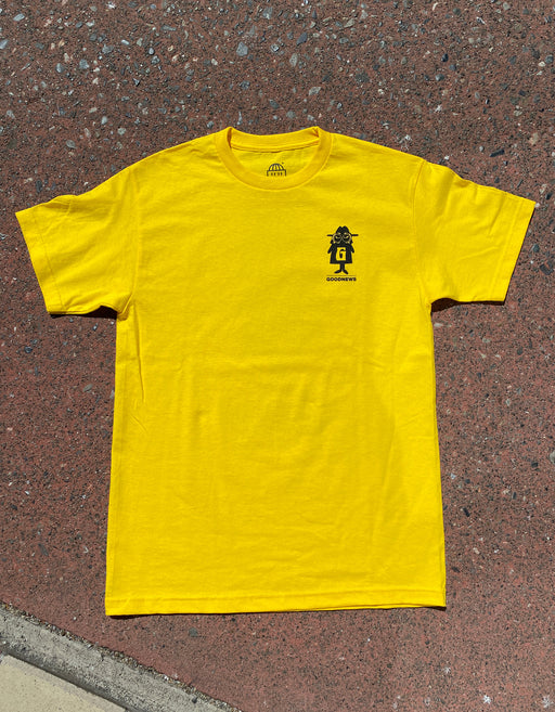 Goodnews X RHEK Tee, Yellow