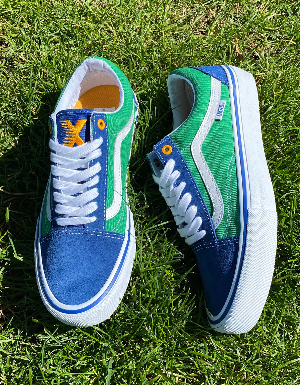 Vans SCI-FI Fantasy Old Skool Pro Blue Green