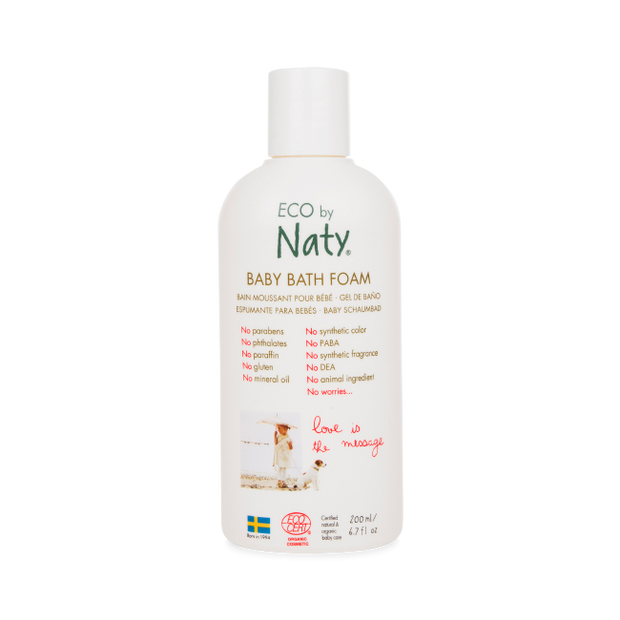 ECO by Naty Baby Bath Foam