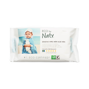 Eco by Naty - Wipes (Vådservietter) - 1 pakke set forfra